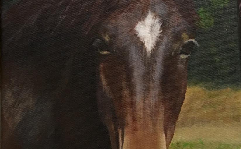 Star – Acrylic Portrait on Canvas